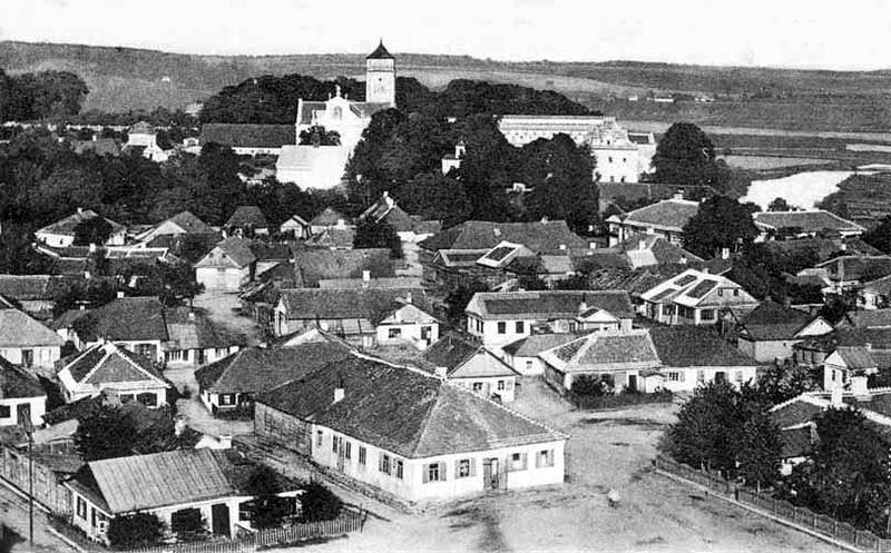 Iziaslav. Panorama of the city