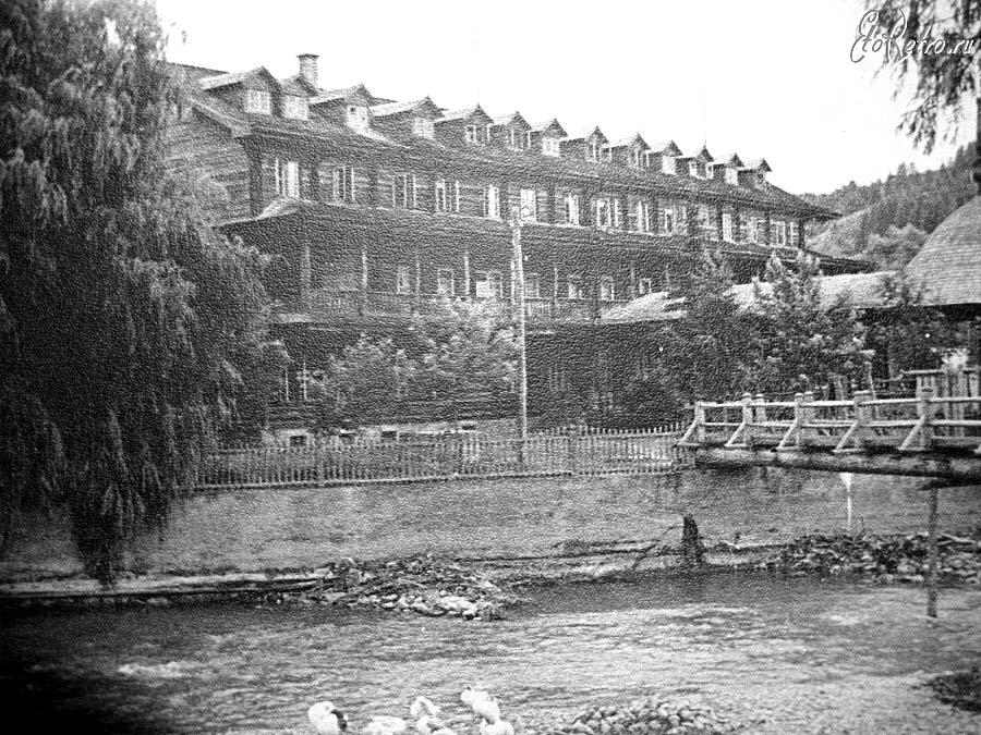 Yasinia. Edelweiss tourist base, 1958