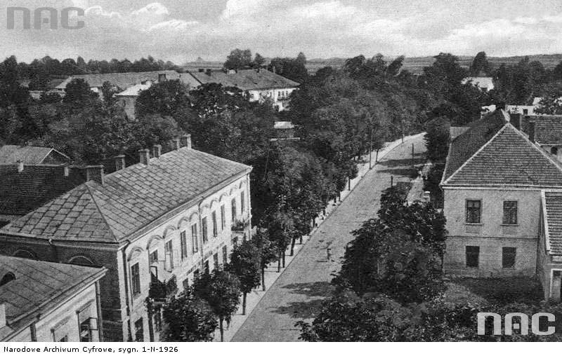 Yavoriv. Panorama of the city