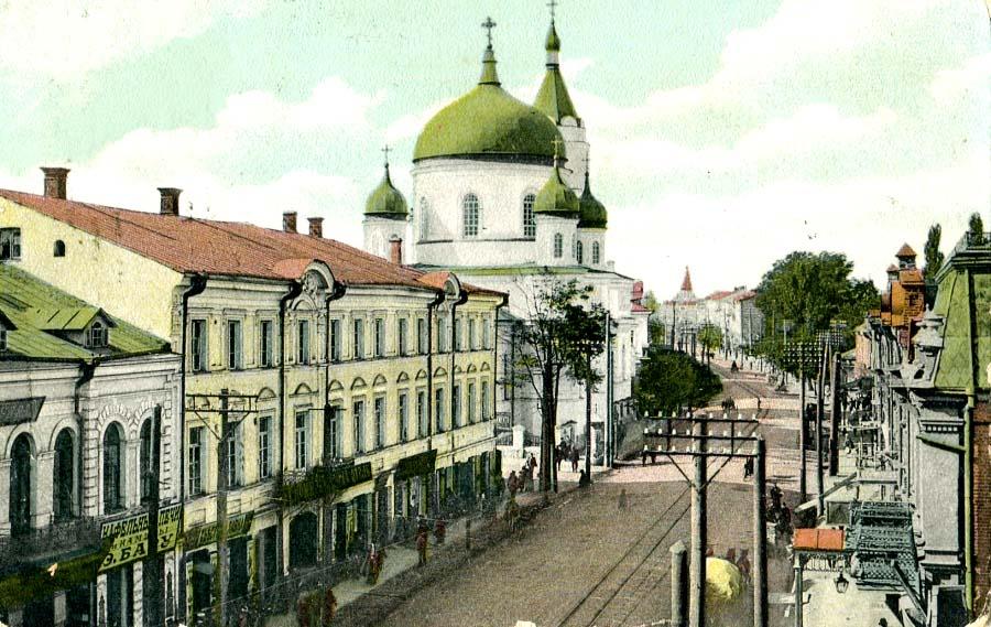 Zhytomyr. Kievskaya street