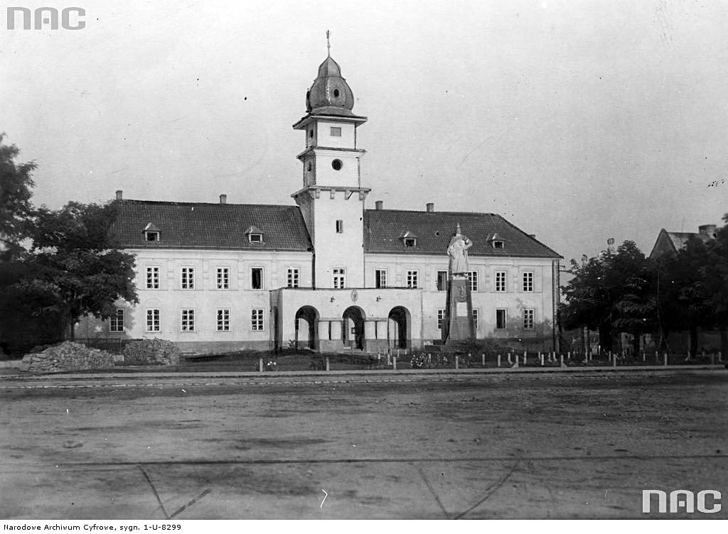 Zhovkva. Town Hall