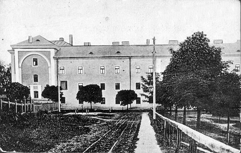 Zhovkva. Military hospital