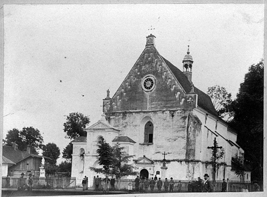 Zhydachiv. Church of the Assumption