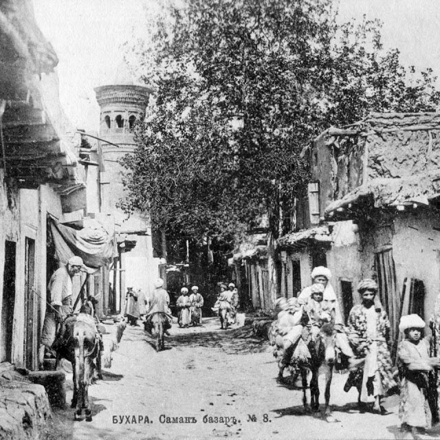 Bukhara. Saman market. The beginning of XX century