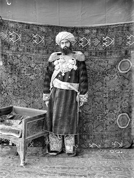 Bukhara. Seid-Abdul-Ahad Khan, the emir of Bukhara