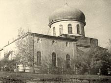 Бирск. Михайло-Архангельская церковь, октябрь 1974
