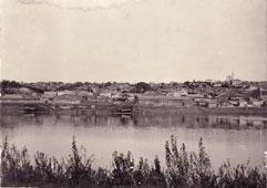 Бирск. Панорама Бирска, между 1950 и 1970