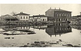 Елабуга. Рыбная площадь