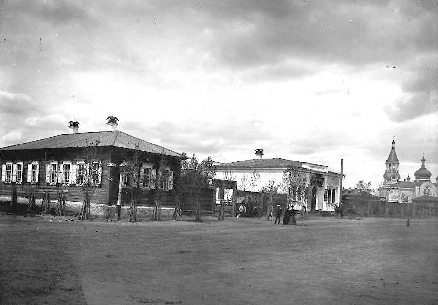 Старые фото Минусинска