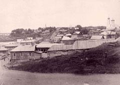 Уфа. Церковь Илии Пророка, около 1895