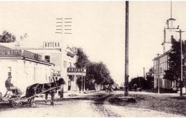 Уфа. Перекресток улиц Большой Казанской и Телеграфной, между 1900 и 1917