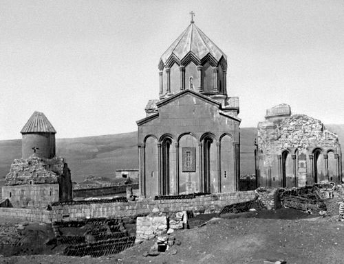 Gyumri. Monastery in the village Marmashen, X-XI century