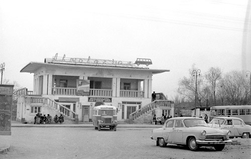 Agdam. Bus station