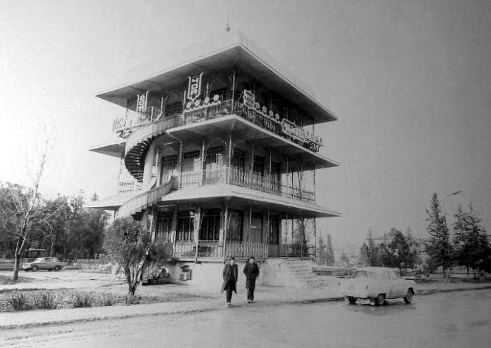 Agdam. Tea House