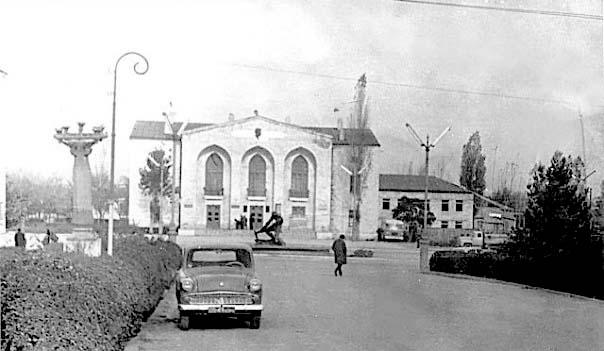 Agdam. Drama Theatre named after Hagverdiyev