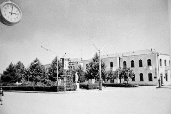 Agdam. Panorama of city