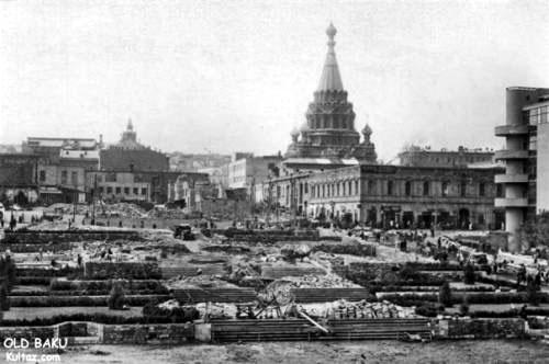 Baku. Alexander Nevsky Cathedral
