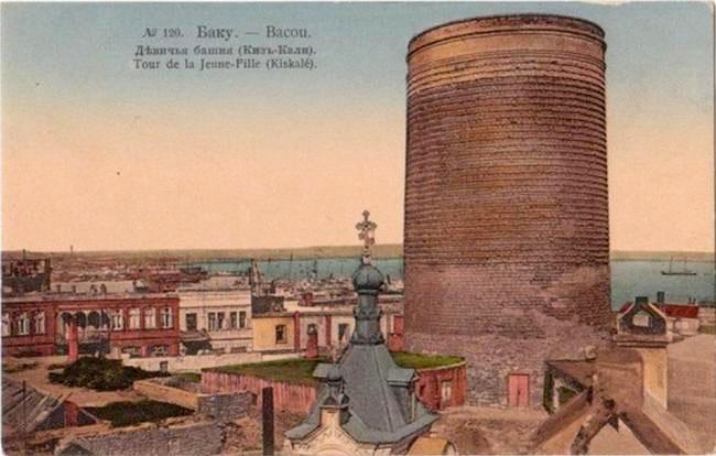 Baku. Maiden tower
