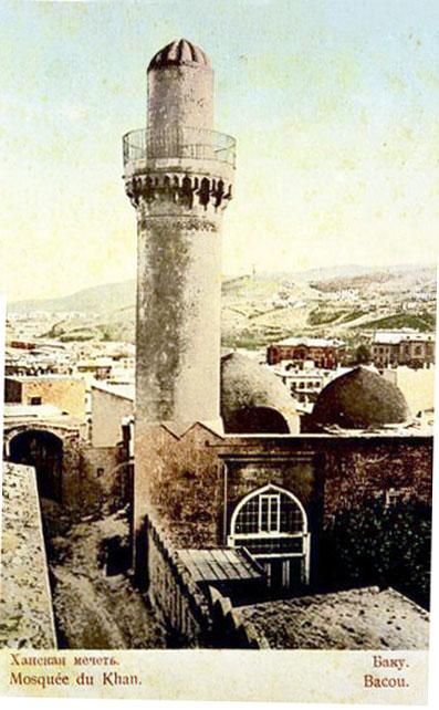 Baku. Khan mosque, 1909