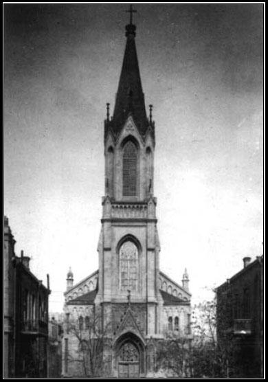 Baku. Lutheran church