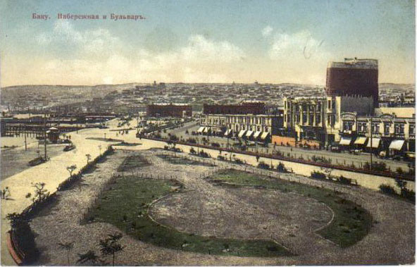 Baku. Seafront and boulevard