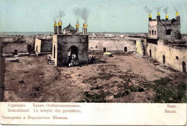 Baku. Surakhani, temple of fire worshipers