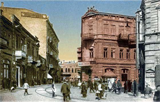 Baku. Panorama of city