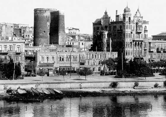 Baku. View of the old city