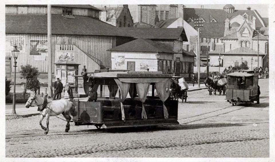 Tallinn. Horse-Tram