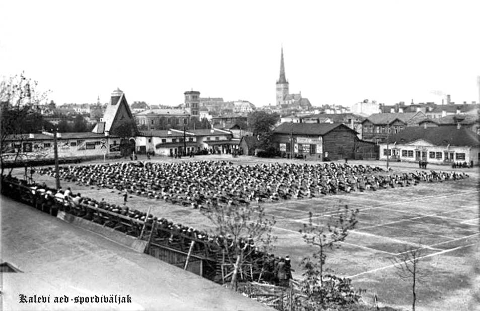 Tallinn. Kalev Stadium, 1920