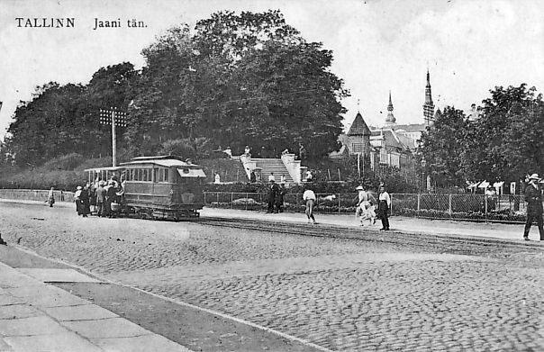 Tallinn. Yaani Street
