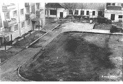 Aktobe. Panorama of the city, May 8, 1976