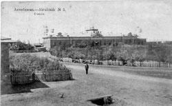 Aktobe. Railway Square