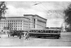 Алма-Ата. Дом правительства Казахской ССР, 60-е годы