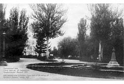 Алма-Ата. Пушкинский парк, 1915 год