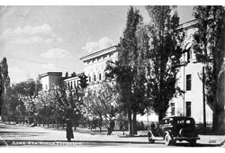 Алма-Ата. Улица М. Горького, школа № 54, 50-е годы