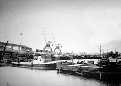 Aralsk. Port